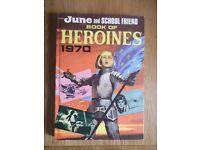 June and School Friend Book of Heroines 1970