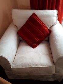 Cream fabric high quality chair