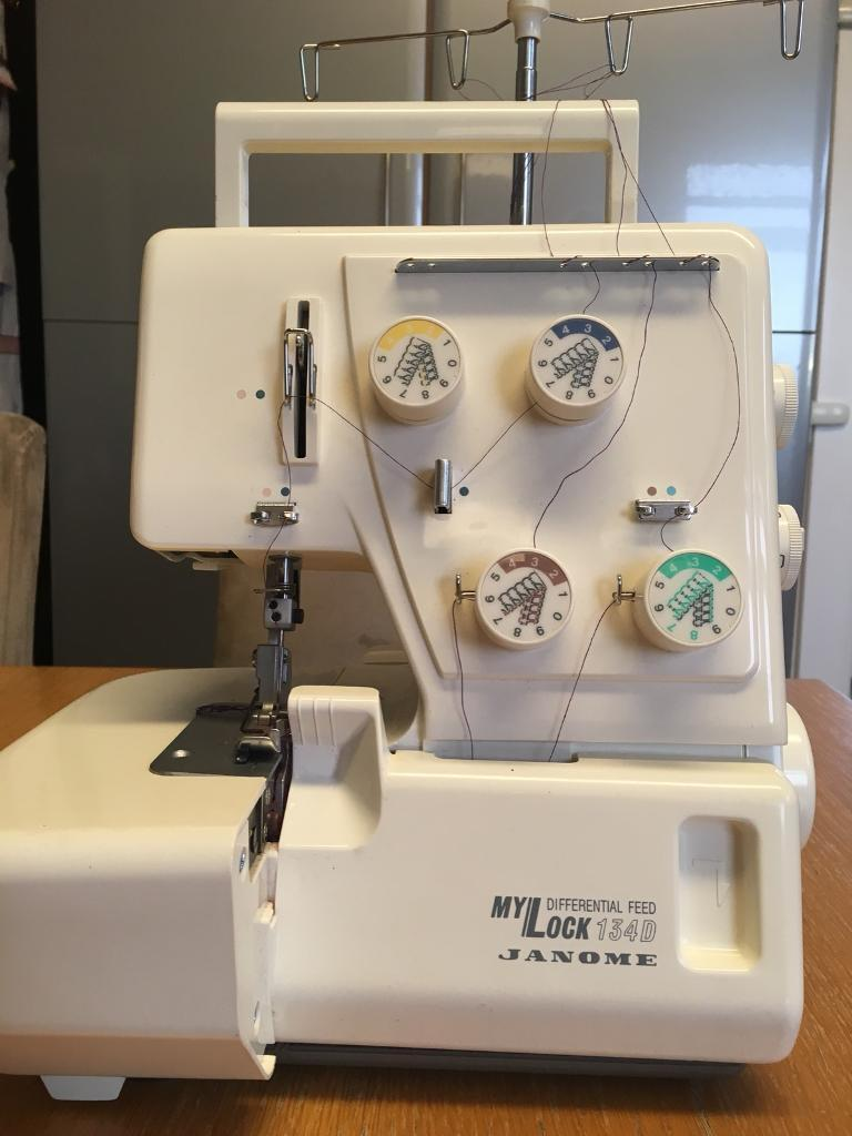 Mylock 134D Janome overlocker with differential feed