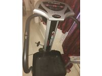 Vibro plate with weight cable