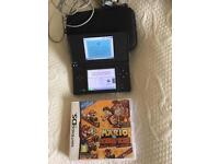 Nintendo dsi with mario vs donkey Kong
