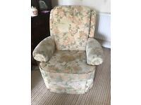 G Plan Single seater electric reclining chair and matching 3 seater sofa