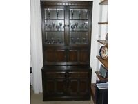 Ercol Old Colonial Display Cabinet & Drawer Base FINAL REDUCTION!!
