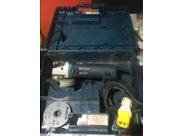Bosch gws 11-125 cl professional very good condition hardly been used comes with spare blades