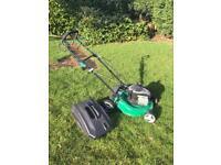 Gardenline petrol self propelled lawnmower
