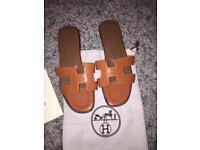 Hermes sandals size 35 uk 2