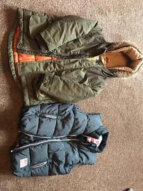 2 BOYS COATS AGE 4-5 £10 FOR BOTH