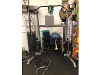 CABLE MACHINE - Body Solid Functional Training Centre + attachments