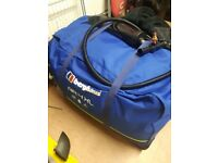 Berghaus 4xl pump up tent