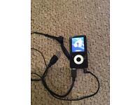 Bush MP3 with Sony headset