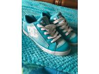 Size 8 woman's DC trainers