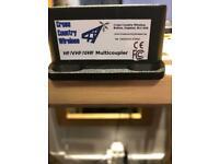 Cross country wireless hf/vhf/uhf multicoupler