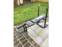 YORK EXERCISE BENCH PRESS IF INTERESTED CALL 0 7 7 4 1 1 3 8 1 8 1