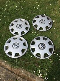 Volkswagen Polo set of four wheel trims