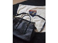 Black Aspinal of London bag mint condition never used