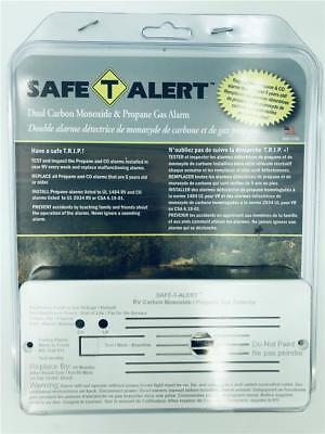 NEW Safe T Alert Dual Carbon Monoxide & Propane Gas Alarm 35-742-WT -