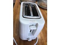 Toaster ASDA white