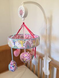 Mothercare Pink mobile (like new)