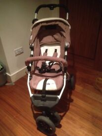 Pram with accessories in good condition