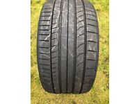 nearly new but cheap continental tyre