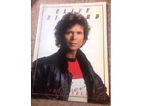 Cliff Richard programme from the Silver Tour