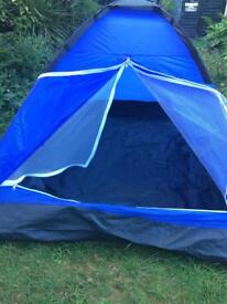 2 man tent up in minutes