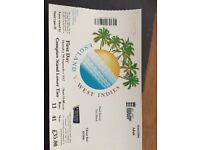 England vs West Indies, Lords 7th Sept - 4 Tickets
