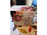 Breast pump. Lactaline double electric breast pump