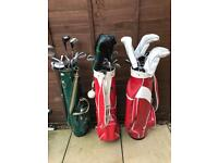Golf clubs mixed sets / bag / glove / golf balls