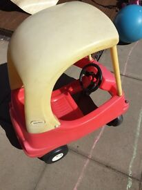 Little tikes red and yellow car