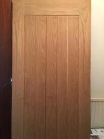 OAK VANEER DOOR