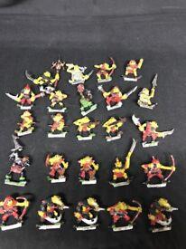 Dungeons & Dragons / war hammer miniatures