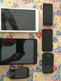 Spere parts phones and tablets