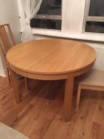 Ikea Bjursta Round Dining Table - excellent condition