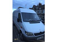 Mercedes sprinter 311 cdi 260 k moted long drives nice cheap van can do with some cosmetics