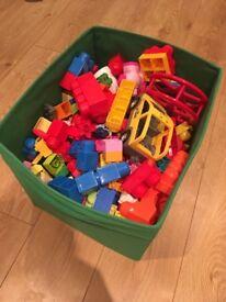 Mixed duplo blocks