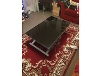 glass coffee/dining table