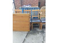 FREE Table and chairs collect asap