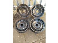 """4x Metal rims size 13"""", from Peugeot 306, very good condition, no rust. Pick up only."""