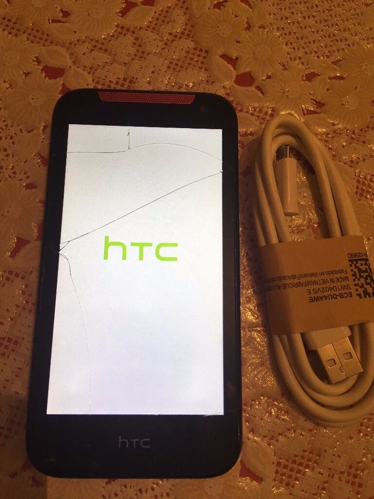 HTC desire 300 smartphone unlocked watsapp facebook play store perfectly working good batteryin Bradford, West YorkshireGumtree - never pick up withheld calls so avoid NO offerss ,No swap ,no delivery ,cash at pick up wont reply for offers Prefer CALL/WATSAPP/IMESSAGE The screen is cracked but still fully functional with all buttons camera and touch ,good used condition ,Ive...