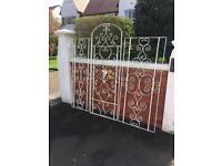 Decorative wrought iron garden Gates / garden decoration/ Window grills / Railings can Deliver £95
