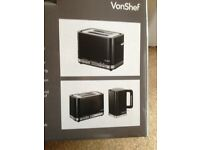VonShef 2 slice toaster