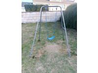 Free to collect today Childs garden swing.