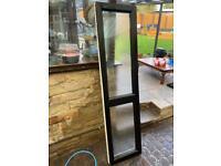 Upvc door side panel window