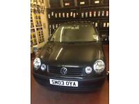 VW Polo 1,2 petrol 2003 Spares or Repairs, Can be driven away.