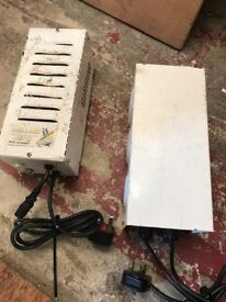 Cheshunt Hydroponics Store - used 600w metal vented power packs