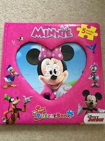 Minnie puzzle book