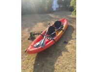 Ocean Kayak Malibu 2 XL - two seats/foot rests and paddles