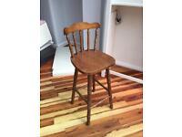 Vintage kitchen stool