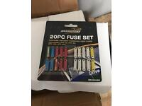 Brand new box of 50 ! Fuse set 20pc job lot